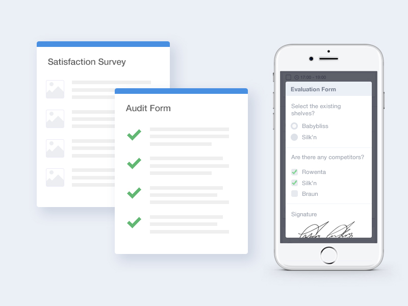 Ekmob mobil uygulamasında anket, form, denetim formu doldurulurken seçimli alanların gösterimi